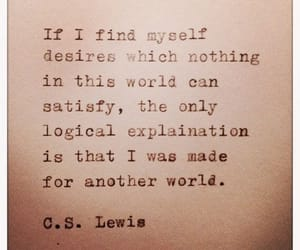 c.s. lewis, inspirational, and quotes image