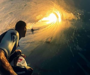 surf, sun, and waves image