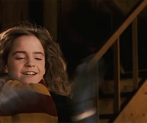 gif, hermione, and harry potter image