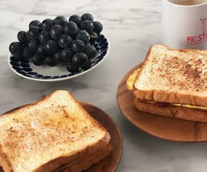 brunch, food, and sandwich image