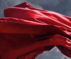 cape, aesthetic, and red image
