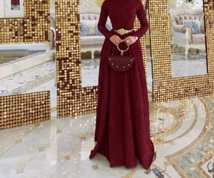 hijab, traditional, and chechen image