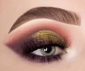 lashes, grey eyes, and brows image