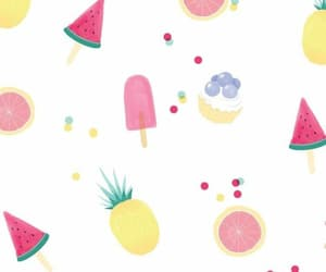 wallpaper, fruit, and summer image