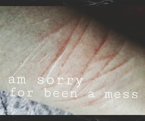 afraid, alone, and cuts image