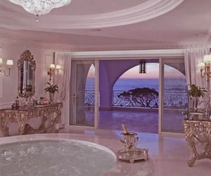 luxury, pink, and house image