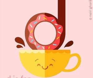 alphabet, doughnut, and draw image