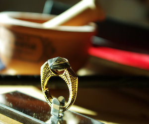 harry potter, ring, and horcrux image