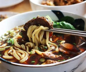 chilli, chinese food, and noodles image