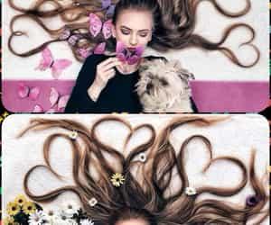 belleza, hair, and pelo image