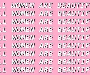 beautiful, pink, and women image