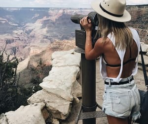 girl, travel, and summer image