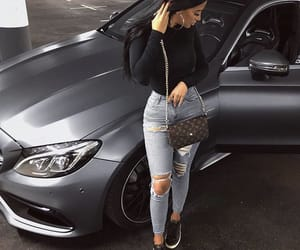fashion, car, and mercedes image
