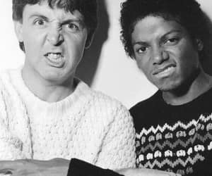 michael jackson and Paul McCartney image