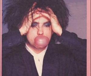 robert smith, the cure, and goth image