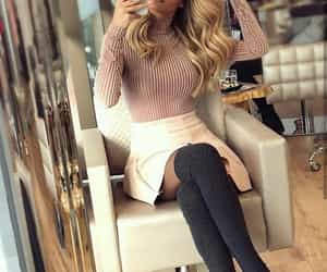 autumn, fashionable, and chic image