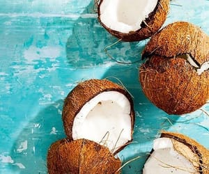 coconut, coconut water, and coconuts image