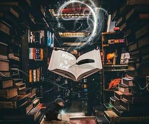 books, dreamy, and fantasy image