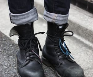 boots, style, and shoes image