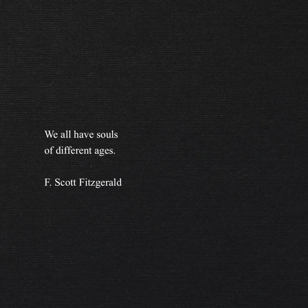 F. Scott Fitzgerald shared by M♡st♡f♡ on We Heart It