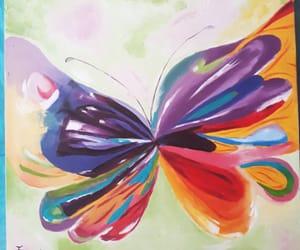 arte, colorido, and pintura image