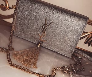 bag, YSL, and glitter image