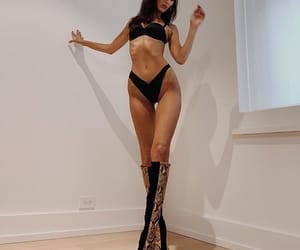 bella hadid, model, and body image