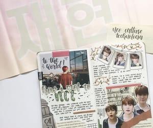 kpop, jaehyun, and bullet journal image