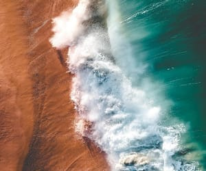 beach, inspiration, and water image