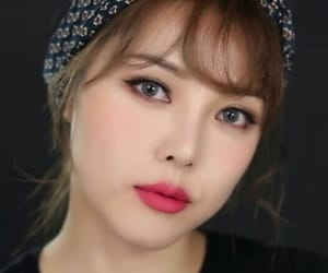 asian girl, korean, and makeup image