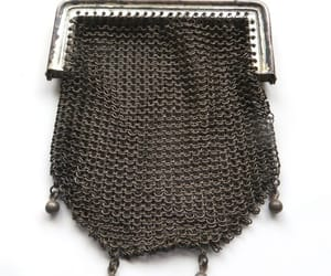 etsy, antique mesh purse, and vintage coin purse image