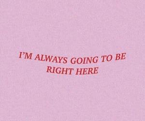 words, Lyrics, and pink image