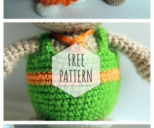 crochet, crochet toy, and knitting toy image