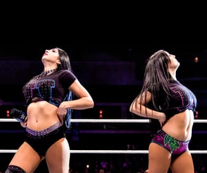wwe, billie kay, and iconic duo image