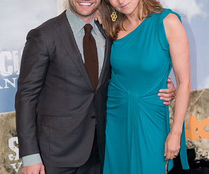 Premier, spartacus, and lucy lawless image