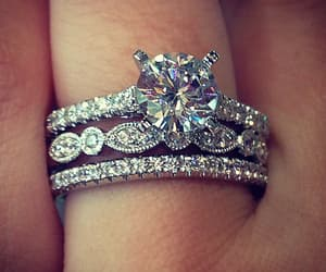 pretty, rings, and style image