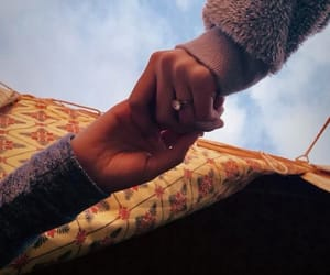 forever, hands, and friends image