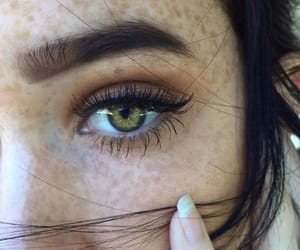 cool, make up, and eyebrowns image