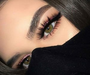 cool, style, and lashes image
