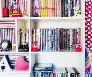 dvd, filmes, and pipoca image
