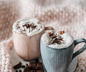 coffee, chocolate, and winter image
