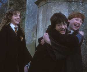 friendship, harrypotter, and hermionegranger image