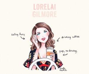 gilmore girls, wallpaper, and lorelai gilmore image