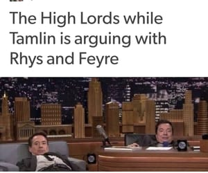 feyre, tamlin, and rhysand image