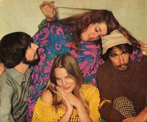 michelle phillips, the mamas and the papas, and music image