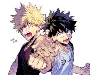 anime, anime boys, and boku no hero academia image