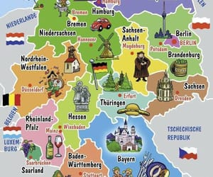 culture, europe, and map image