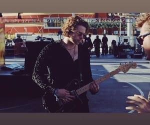 guitar, LUke, and handsome image