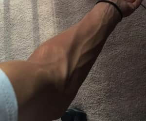 boy, veins, and arm image