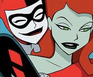 harley quinn, poison ivy, and dc comics image